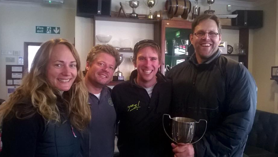 J24 Autumn Cup Winners 2015 Team Paget
